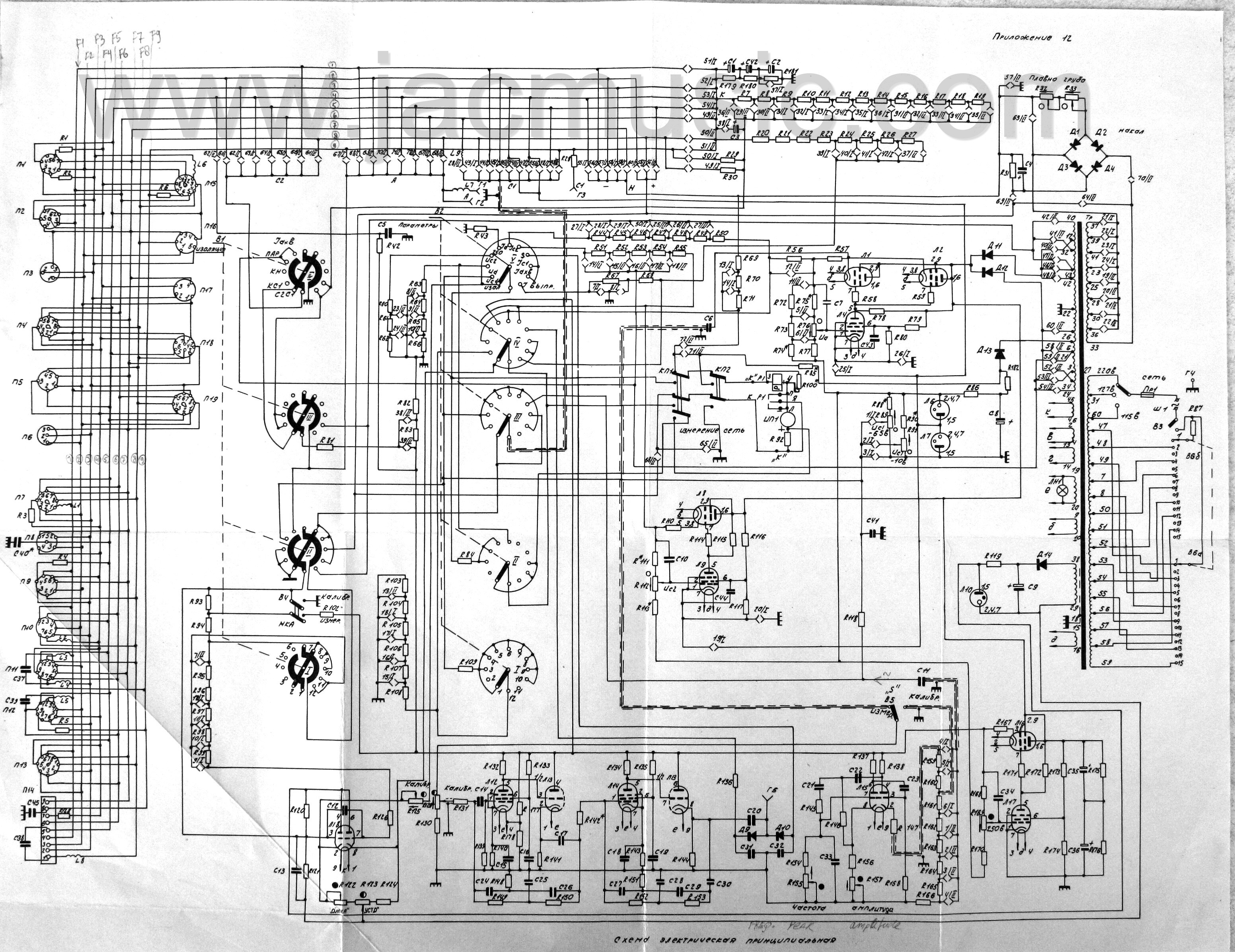 Russian L3 3 Tube Tester Page Variac Wiring Diagram Youtube Schematic Needed