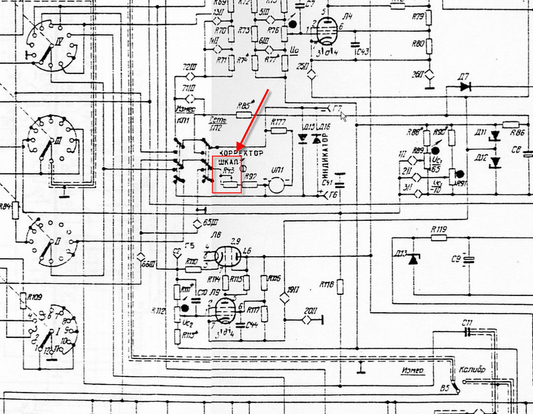 Russian L3 3 Tube Tester Page Translated Schematics Here Look And Schematic Needed